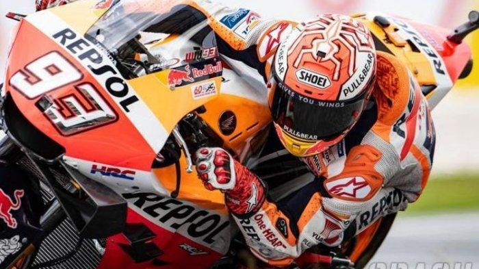 JADWAL MotoGP Malaysia 2019 di Sirkuit Sepang, Marc Marquez Jatuh dan Rasakan Sakit di Seluruh Badan