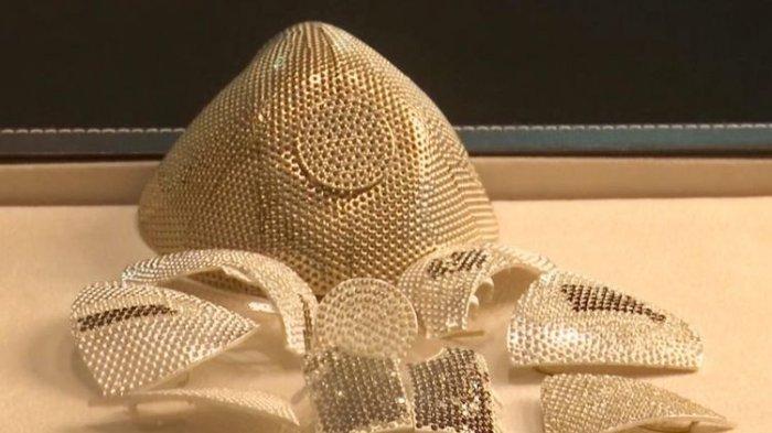 Diklaim Jadi Termahal di Dunia, Ini Video Penampakan Masker Seharga Rp 22 Miliar
