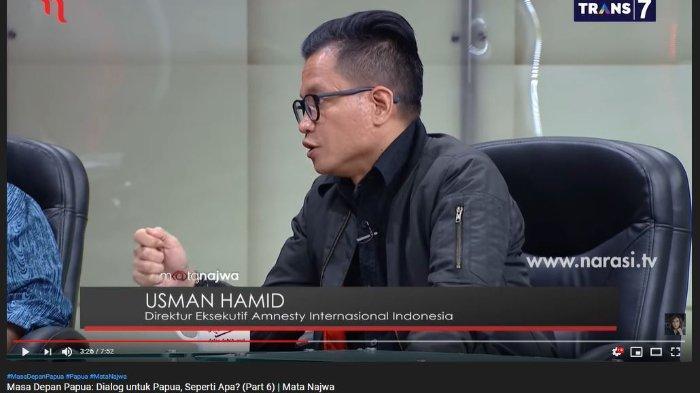 Sebut Pola Pikir Pemerintah Terlalu Kaku soal Papua, Usman Hamid: Seolah Tak Ada Ruang untuk Dialog