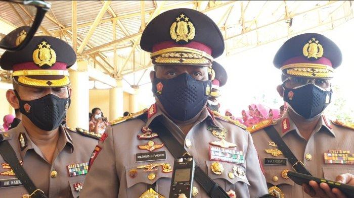 Kapolda Papua Pastikan Seluruh Polres Lakukan Vaksinasi Massal
