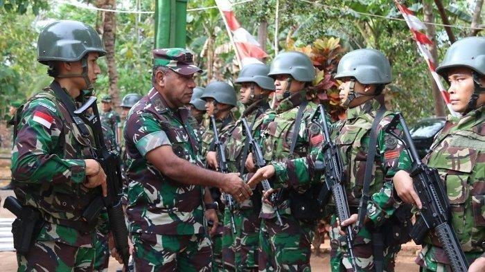 Cek Langsung Kondisi Prajurit, Pangdam XVII Cenderawasih Kunjungi Satgas Pamtas RI-PNG di Merauke