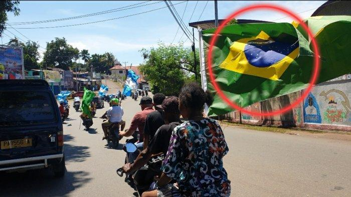 Ada yang Aneh dari Konvoi Suporter Argentina di Kota Jayapura