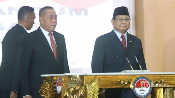 Puji Ryamizard Ryacudu, Prabowo: Semangatnya Tak Jauh dari Saya, Sangat Merah Putih