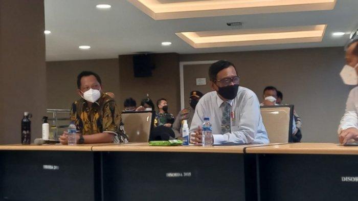 Ini Penjelasan Menkopolhukam dan Mendagri soal Dana yang Dipertanyakan PB PON XX Papua