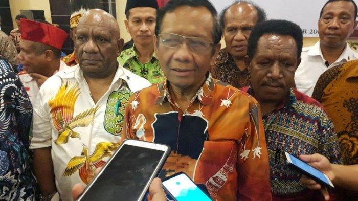 Ada Fakta Baru yang Dibeberkan Mahfud MD soal Papua: Penting Kita olah di Jakarta