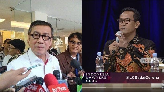 Sindiran Refly Harun untuk Yasonna Laoly: Menteri Itu Pembantu Presiden, Gak Punya Visi Misi Sendiri