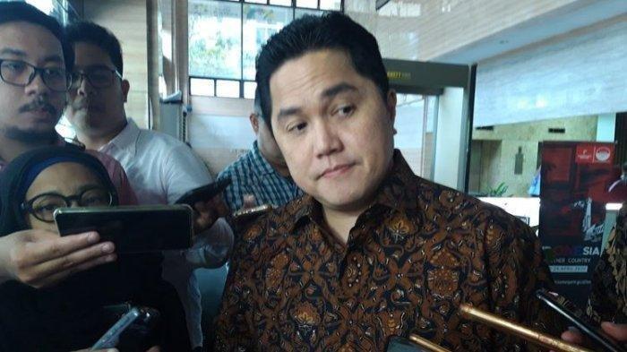 Sudah Puluhan Kali Dipanggil Ratas oleh Jokowi sejak Dilantik, Erick Thohir: Presiden Ini Gila Kerja