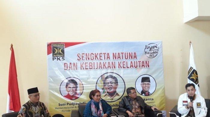 Takut Dispekulasi, Susi Pudjiastuti Ungkap Alasan Mau Datang ke Kantor DPP PKS Bahas Natuna