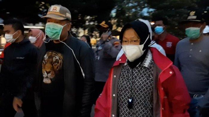 Semarang Banjir, Risma Telepon Pejabat BBWS: Nyalakan Lima Pompanya Pak, Biar Cepat Surut
