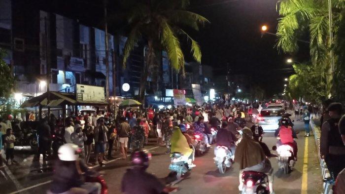 Presiden Jokowi Tiba di Sorong, Ada Warga yang Mengejar Mobil RI 1