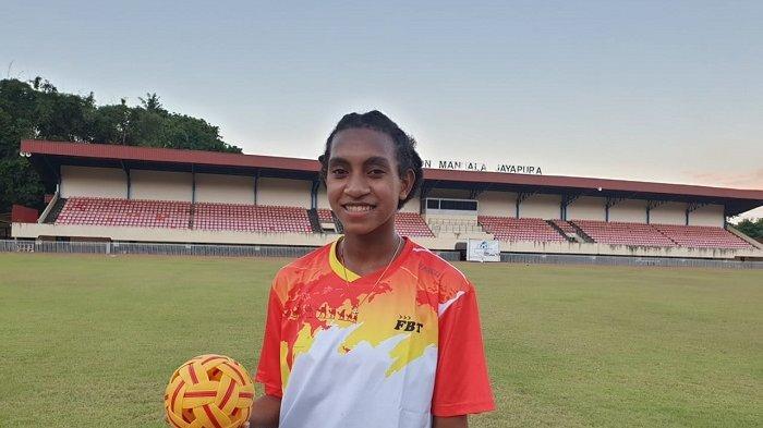 Atlet Termuda Sepak Takraw PON, Mince Korwa Target Sumbang Medali Emas Untuk Papua
