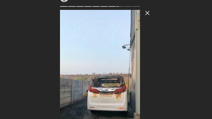 Polisi: Terduga Pelaku Pembakaran Mobil Alphard Via Vallen Akrab dengan Lingkungan Sekitar