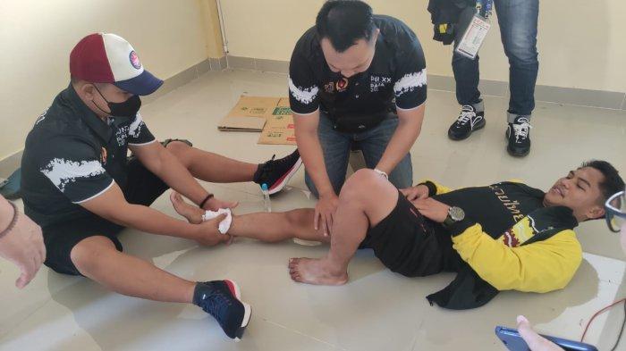Atlet Muay Thai Kalsel, Abdul Rozak Jalani Perawatan Khusus karena Kaki Nyeri