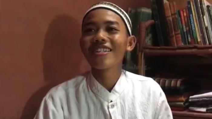 Cerita Fikri, Santri yang Pernah Sebut Prabowo Menteri Jokowi: Spontan Menjawab karena Grogi