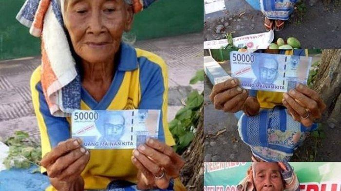 Viral Nenek Penjual Mangga di Bali Dibayar Uang Mainan 50.000, Polisi: Kami Sedang Cari Pelakunya