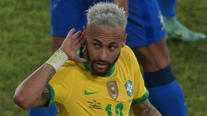 Bersinar di Copa America 2021, Neymar Antarkan Timnas Brasil ke Final Pertamanya