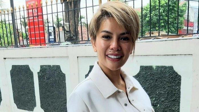 Nikita Mirzani ditemui di PN Jakarta Selatan, Rabu (15/7/2020).