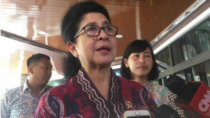 Jenguk Menkopolhukam, Nila F Moeloek: Sebelum ke Pandeglang, Wiranto ke Wamena Masih Aman