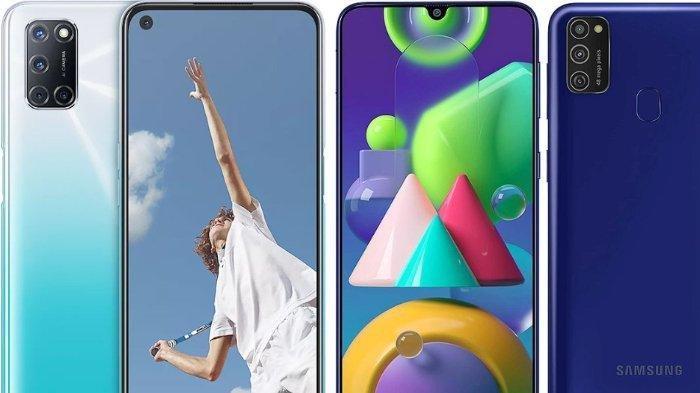 Sama-sama Dibanderol Rp 2,9 Jutaan, Simak Perbedaan Spesifikasi Oppo A52 dengan Samsung Galaxy M21
