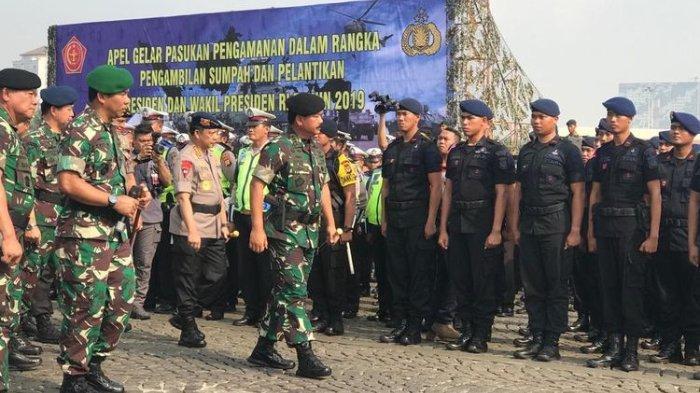 Apel Gelar Pasukan Jelang Kunjungan Wapres Ma'ruf Amin di Manokwari