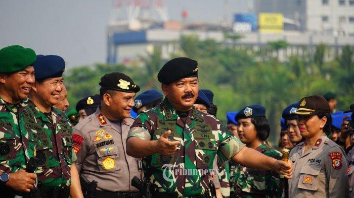 Hoaks Narasi Panglima TNI Marsekal Hadi Tjahjanto Dipecat, Ini Faktanya