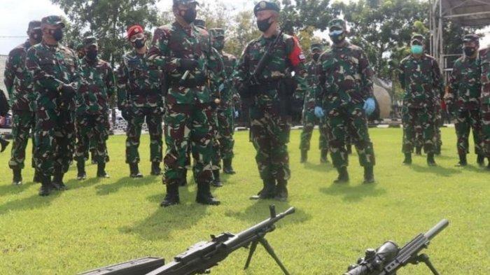 Kirim 450 Prajurit Para Raider 501/Bajra Yudha ke Intan Jaya Papua, Panglima TNI: Selamat Bertugas