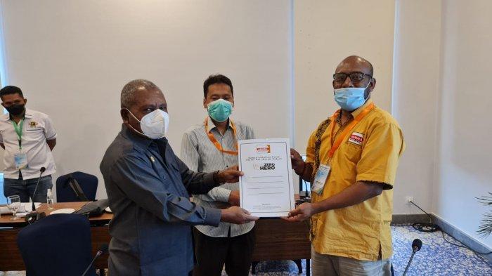 Kenius Kogaya, Nama Pertama yang diusulkan Hanura Papua ke Koalisi Lukmen Jilid II