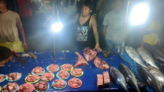 Pasar Malam Borobudur, Sumber Ikan Tuna Segar di Kota Manokwari