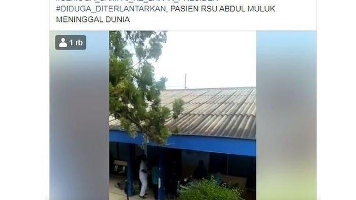 Viral Video Pasien BPJS Meninggal di Selasar RSAM, Anggota DPRD Lampung Marah: Maunya Apa?