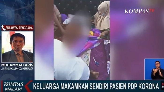Jenazah PDP Corona Diambil Paksa Pihak Keluarga, Plastik Dibuka dan Disaksikan Banyak Orang di Rumah