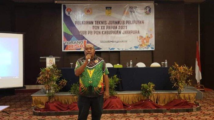 Miris, Sekretariat Sub PB PON Utang Biaya Pelatihan Jurnalis Peliput PON di Kabupaten Jayapura