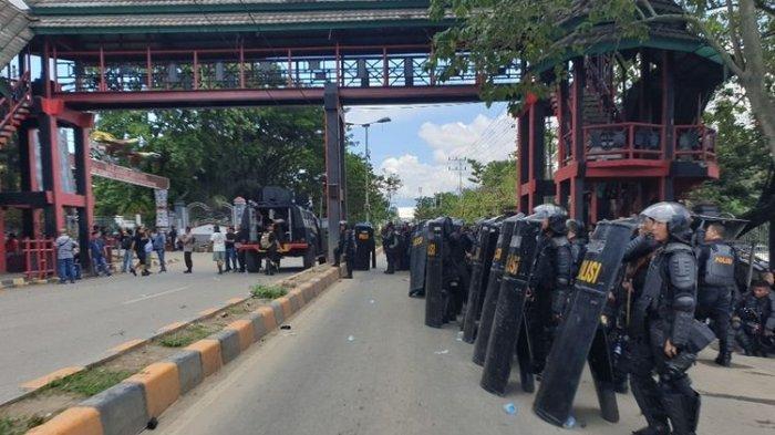 733 Orang yang Diduga Terlibat Kerusuhan Jayapura Diamankan Polisi