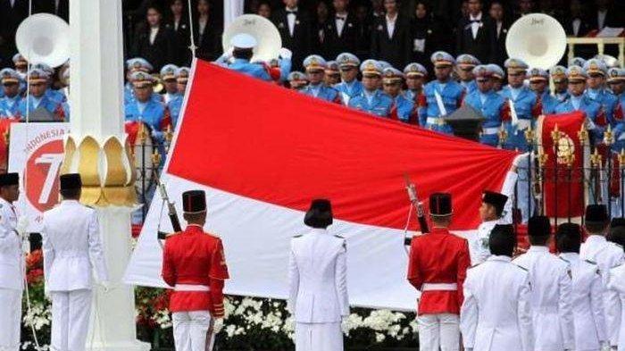Live Streaming Upacara Detik-detik Proklamasi HUT ke-75 Kemerdekaan RI di Istana Merdeka