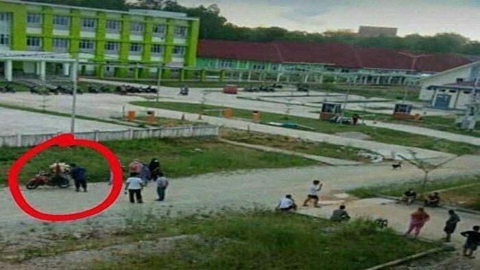 Viral Pedagang Jualan di Kawasan Isolasi Pasien Covid-19, Dinkes Sintang: Sudah Ditegur Berkali-kali