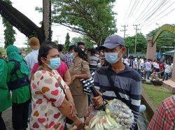 Kunjungan Presiden Jokowi ke Sorong Papua Barat Membawa Berkah bagi Pedagang Kecil