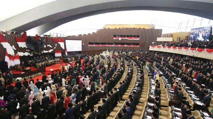 Telah Resmi Ditetapkan, Berikut Susunan Pimpinan DPR, DPD, dan MPR 2019-2024