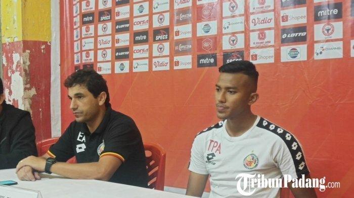 Pelatih Semen Padang Eduardo Almeida Ungkap Penyebab Kekalahan Timnya saat Hadapi Persipura Jayapura