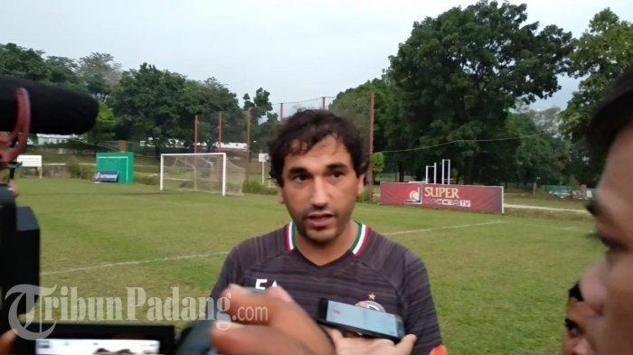 Jelang Hadapi Persipura Jayapura, Pelatih Semen Padang FC Eduardo Almeida Lakukan Pembenahan Tim