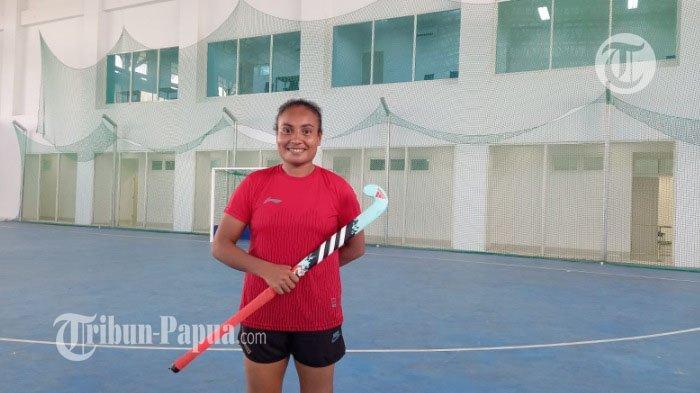 Atlet Hoki Kristina Rumbiak: Kami Siap Tampilkan yang Terbaik Untuk Papua