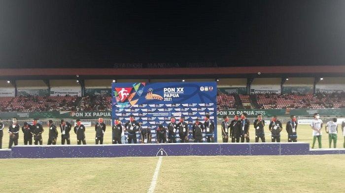 Papua Rebut Medali Emas Sepak Bola PON, Coach Edu: Dari Awal Saya Yakin Dapat Emas