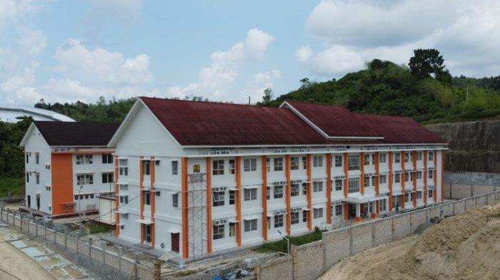 Pembangunan rusun untuk PON XX Papua Tahun 2021.