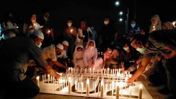 Pererat Persaudaraan, Pemuda Kei Gelar Buka Bersama dan Bakar Lilin untuk Awak KRI Nanggala-402