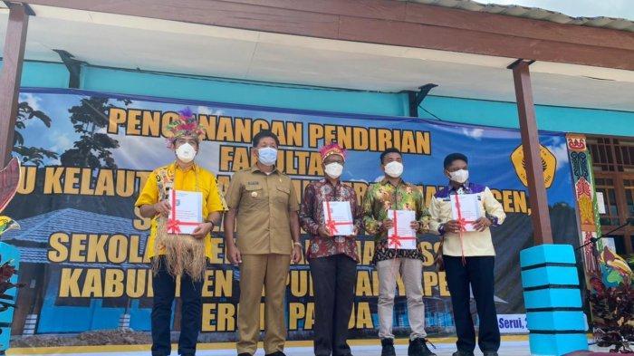 Bupati Toni Tesar Canangkan Kampus Uncen II di Yapen, Ini Pesan Presiden Jokowi