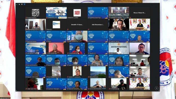 Suasana launching portal berita Tribun-Papua.com