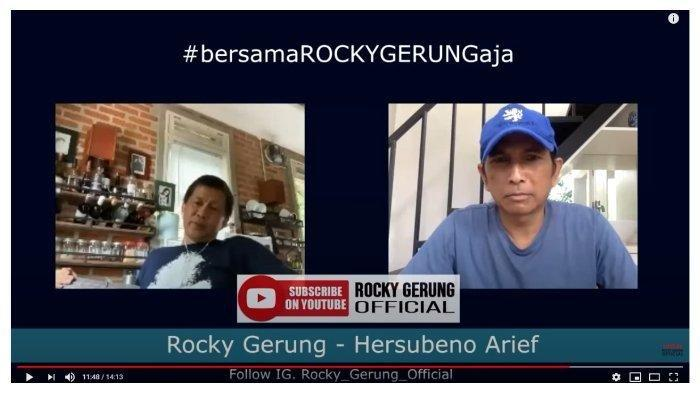Sarankan Menteri Jokowi Damai dengan Anies daripada Corona, Rocky Gerung: Jangan Banyak Ngomel