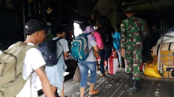 Jumlah Pengungsi yang Kembali ke Wamena Capai 817 Orang