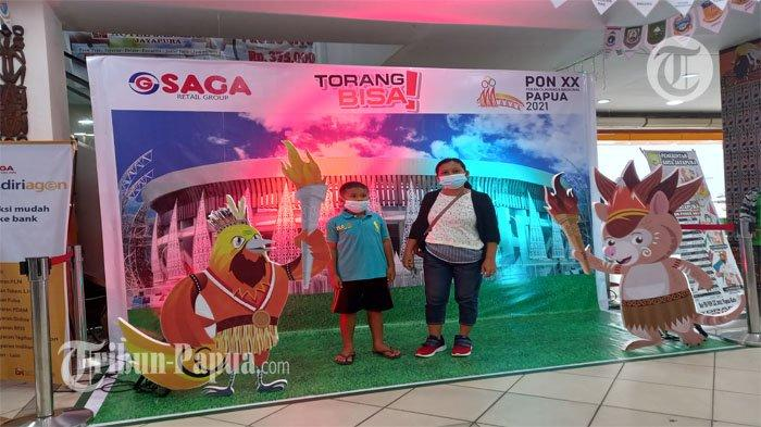 Semarak PON XX Papua Kian Terasa, Saga Mall Abepura Siapkan Photo Booth Mini