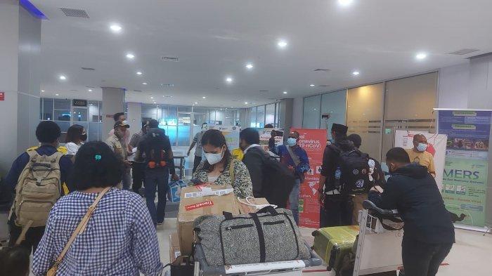 Penumpang Sriwijaya Dari Surabaya Tak Kantongi Ijin Masuk di Sorong