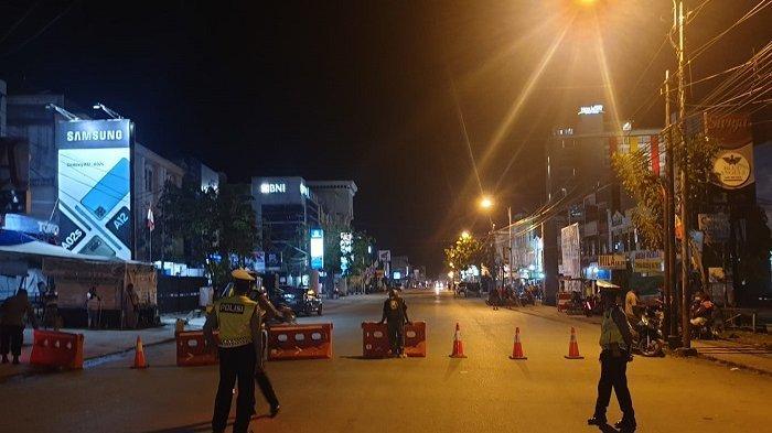 Hari Ke 2 Penyekatan di Kota Jayapura, Aktifitas Warga Berkurang