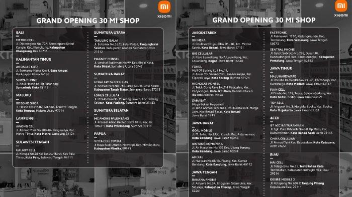 Peresmian Authorized Mi Shop Vitta Cell Timika, Jumat (30/4/2021)